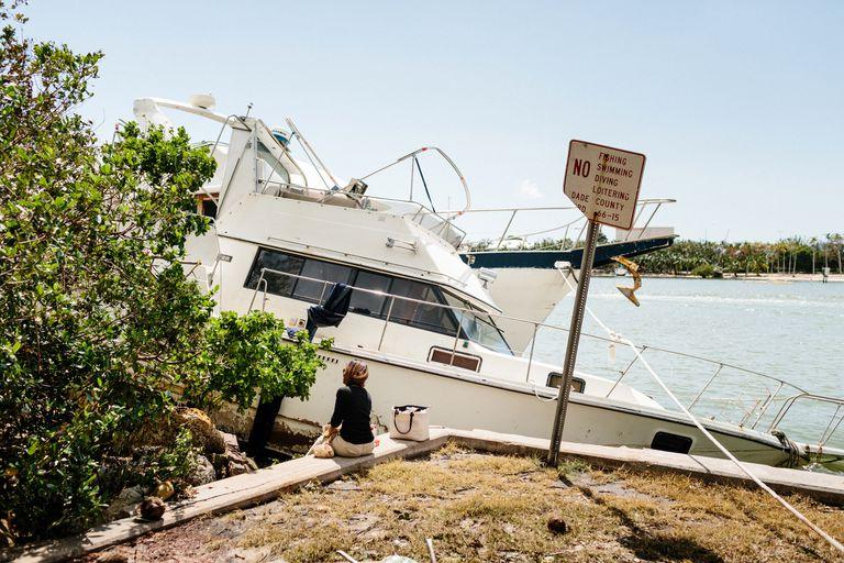 En 2017, el huracán Irma provocó daños en Miami