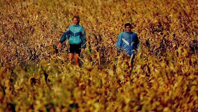 Contacto absoluto con la naturaleza, en El Marito, el campo de La Pampa, preparación para el Mundial 94.
