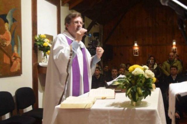 El obispo de Río Gallegos, Jorge García Cuerva
