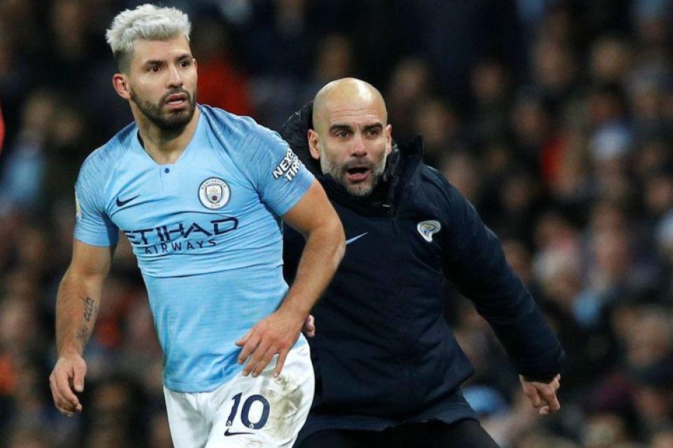 Agüero y Pep Guardiola tuvieron una relación con algunas tensiones