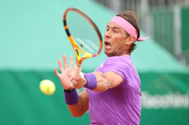 Rafael Nadal, que no competía desde Australia, volvió a jugar y derrotó a Federico Delbonis en la segunda ronda del Masters 1000 de Montecarlo.