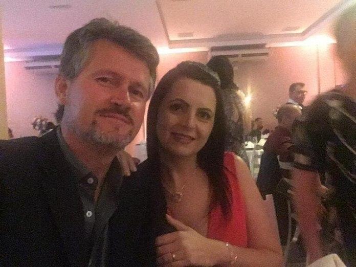 Anderson Antônio Pereira (49) y Sandra Aparecida Pereira (47), quien falleció horas después del hecho (G1)