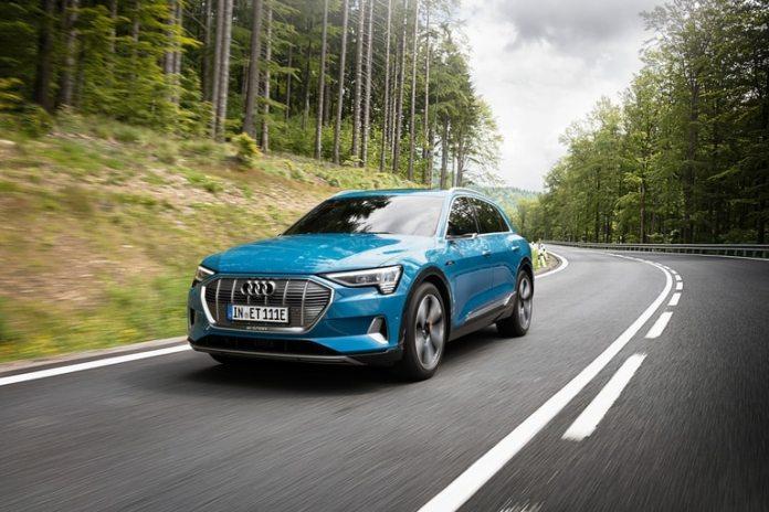 Al país llegarán 11 unidades del Audi E-tron, el primer auto 100% eléctrico de la marca que tiene una autonomía de hasta 488 kilómetros