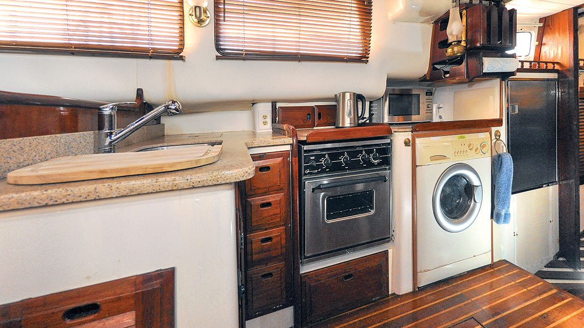 How To Upgrade Your Sailboat S Galley Cruising World