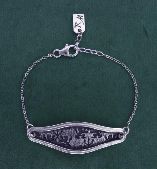 Lions & candle holders bracelet d'Lyon inspiration handmade in France | Res Mirum