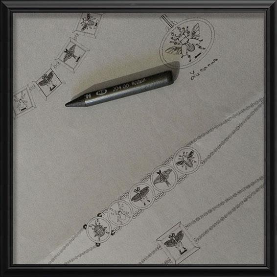 Croquis des bijoux Entomologie   Res Mirum