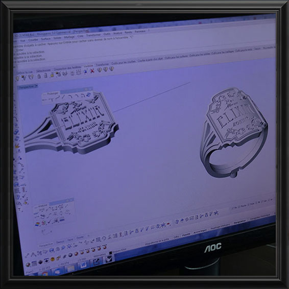 Modélisation 3D d'un bijou   Res Mirum