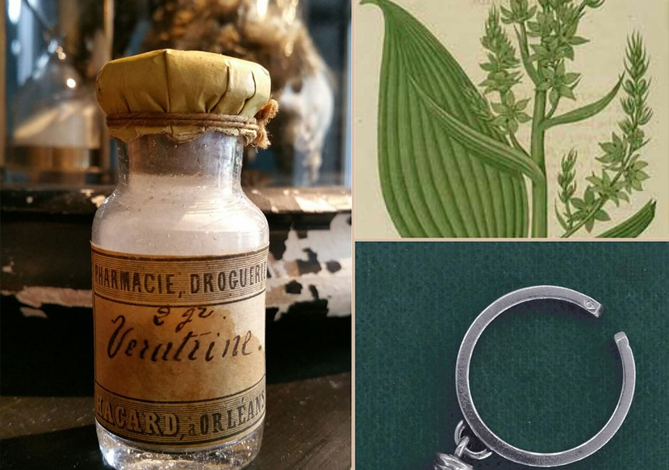 History of the Veratrine ring of the Apothecary Line
