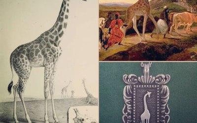 Histoire du pendentif Giraffa de la ligne Museum