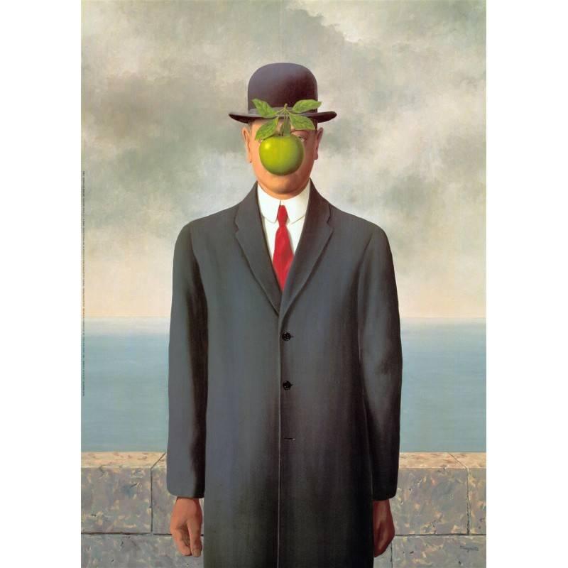 Cuadro Magritte-maltratadores
