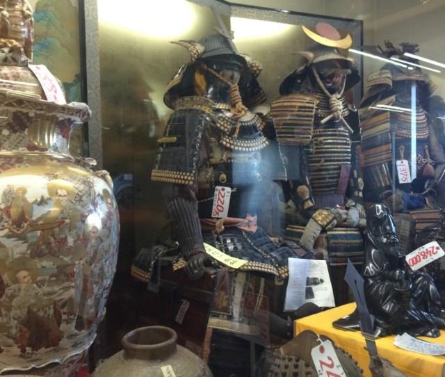Antique Shop In Japan