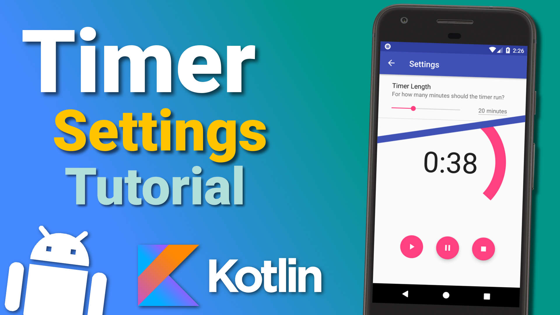 Make a Timer App: Settings (Ep 5) – Android Kotlin Tutorial