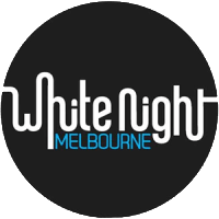 Logo de White Night Melbourne