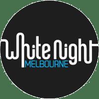 Logo de White Night Melbourne