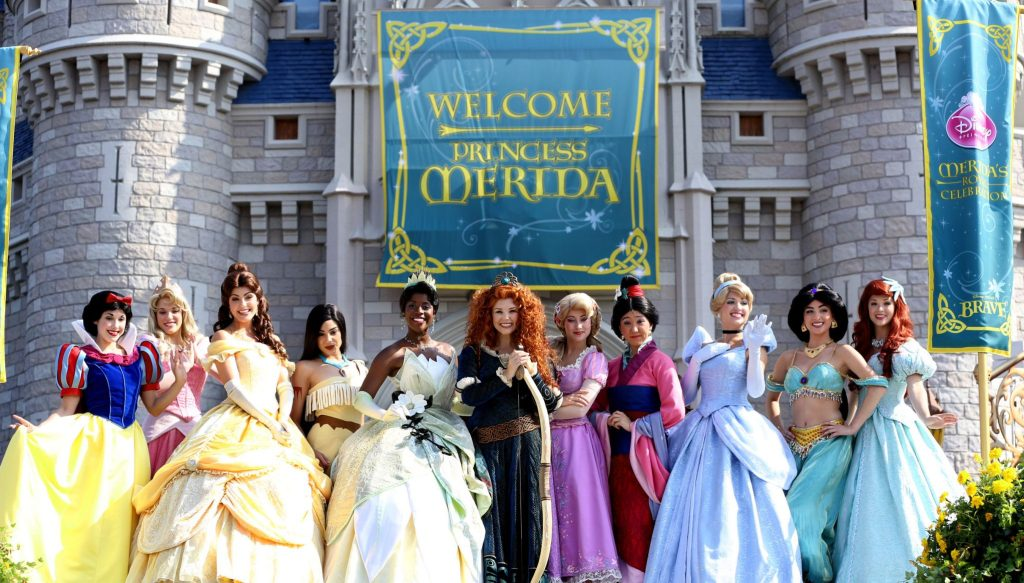 The Disney Princess Royal Court