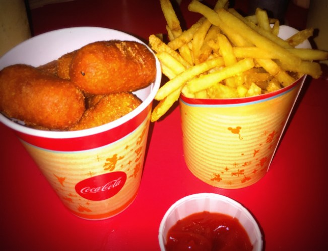 Corndogs at Casey's Corner!
