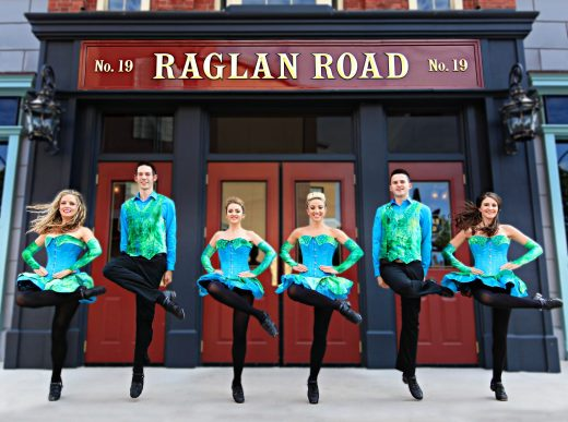 The Raglan Road Dancers will perform during the 'Mighty St. Patrick's Festival' March 13-17 at Raglan Road Irish Pub & Restaurant. A true Irish pub with Dublin roots that includes Irish bands and pro dancers performing on several stages indoors, the restaurant is located in Downtown Disney at Walt Disney World Resort. Also on tap during the celebration is a mighty selection of beers, specially crafted food, face painting and plenty of St. PatrickÕs Day memorabilia. (Raglan Road)