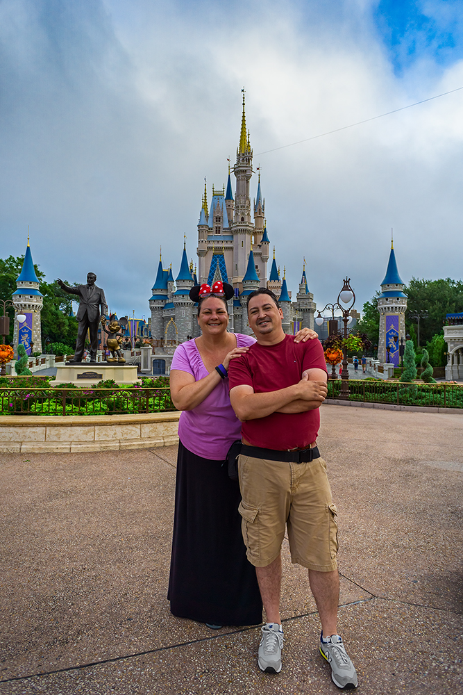 Deb & Monico at the Magic Kingdom (Fall 2016)