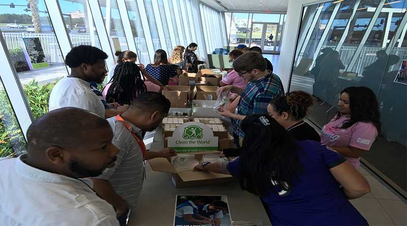 Holiday Inn Club Vacations Teams Up With Clean The World to Build Hygiene Kits For Those Affected By Hurricane Michael Pledges $10,000 to Clean the World Disaster Relief Fund