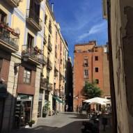A street in El Born.