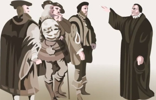 Luther and the Beginnings of the Protestant Reform Scenario Image