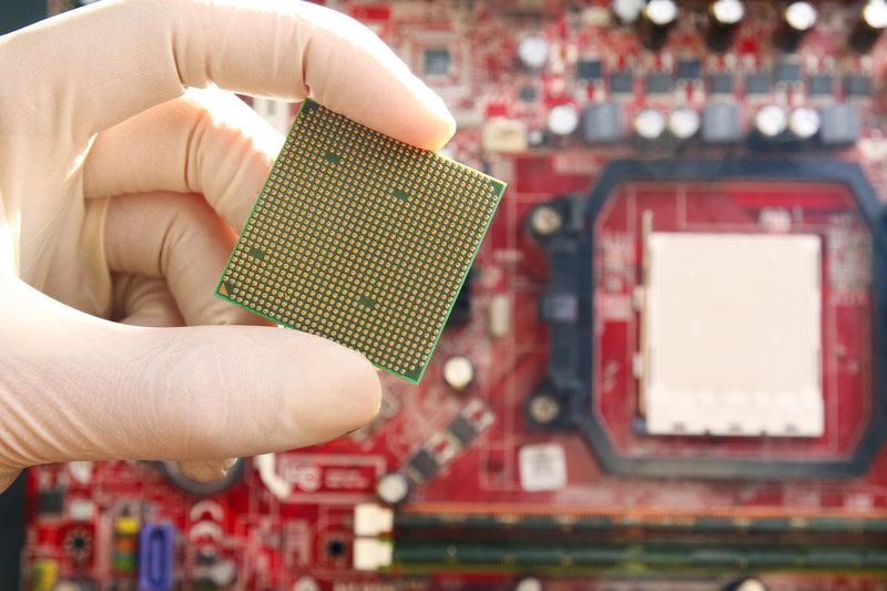 computer circuit board / KYTan, Shutterstock