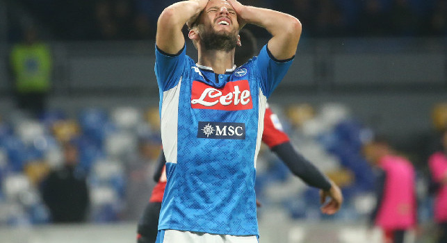 Dries Mertens, the Napoli striker from Belgium