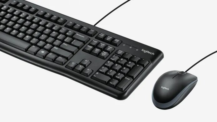 Wired mouse and wired keyboard combo