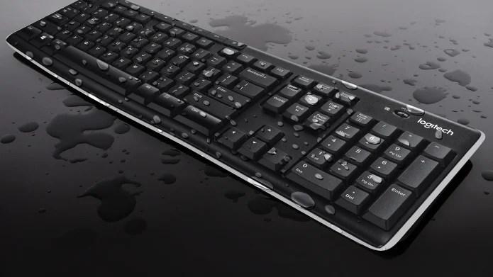 MK270 has spill resistant design