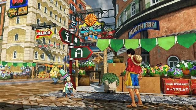 One Piece World Seeker - Change Clothes