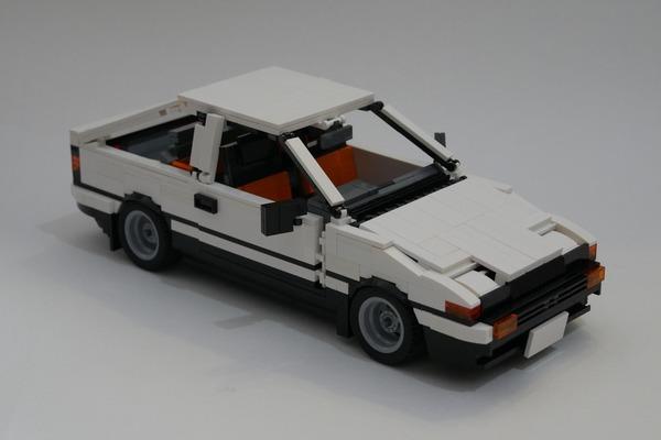 《頭文字 D》樂高版 AE86 提交 LEGO Ideas - ezone.hk - 遊戲動漫 - 動漫玩具 - D180325