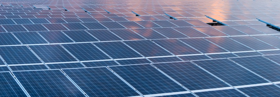 Solar cell panels in a photovoltaic power plant   Schneider Electric     Leave a Comment Cancel reply