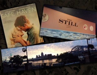 File shredding and a sappy movie. Later, we went to The Still, a new restaurant.