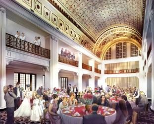 Adding people to renderings, FRCH Design, Creative Fuel, Manipulating Figures, Renaissance Hotel Cincinnati
