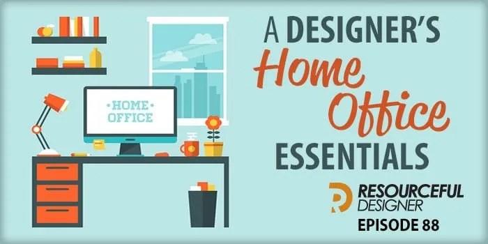 A Designeru0027s Home Office Essentials U2013 RD088