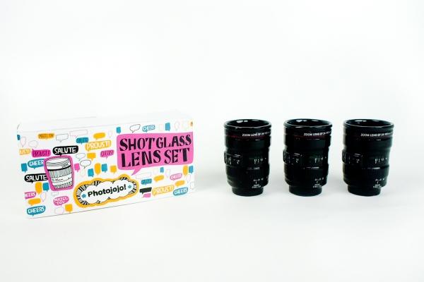 shot-glass-lens-set, photojojo, wish-list, gifts-for-photographers