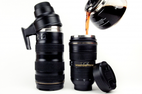 camera-lens-mug, nikon, photojojo, wish-list, gifts-for-photographers