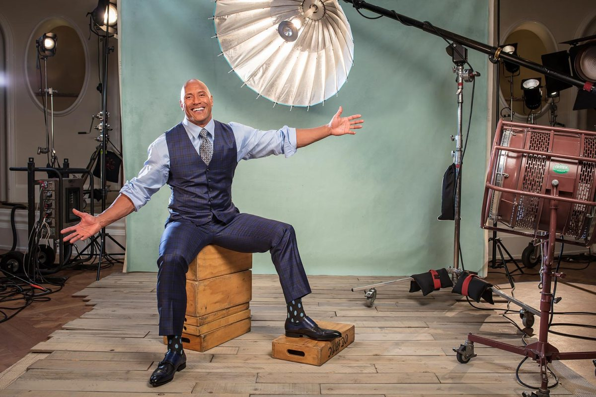 The Rock's Portrait is the First-Ever Sports Illustrated Cover Shot on a Smartphone