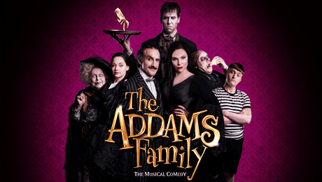 Image result for the addams family musical uk