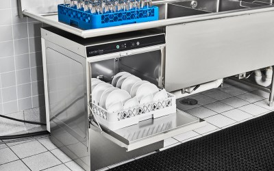 Automated, Undercounter Dishwashing vs. Manual Compartment Sinks