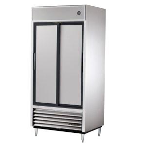 True TSD-33-HC Sliding Door Reach-In Refrigerator