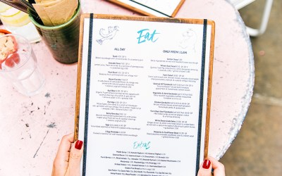 Restaurant Menus: Creating the Perfect Menu to Drive Sales