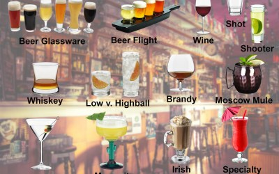 Types of Bar Glasses for Ultimate Bar Service