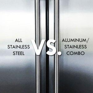 Stainless Steel vs. Aluminum Stainless Combo