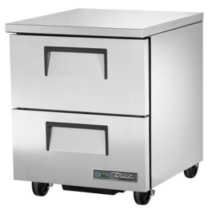 Undercounter refrigerator with drawers