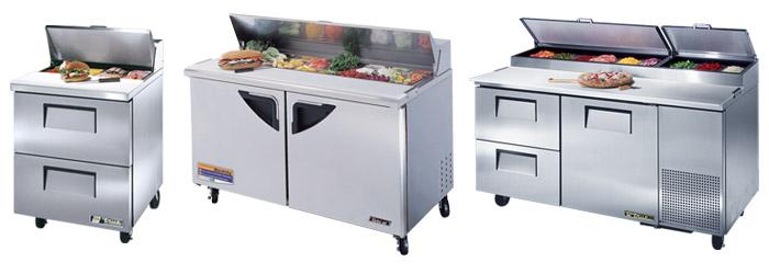 Refrigerated Prep Units