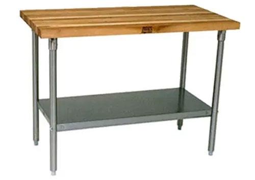 Wood top worktable