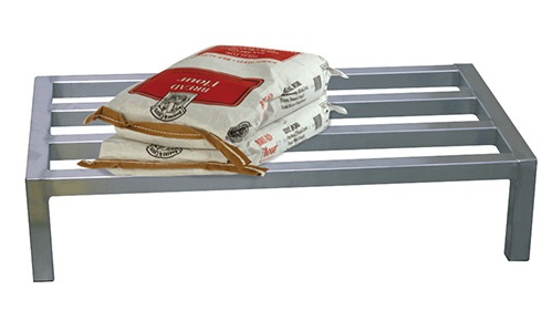 Stainless steel dunnage rack