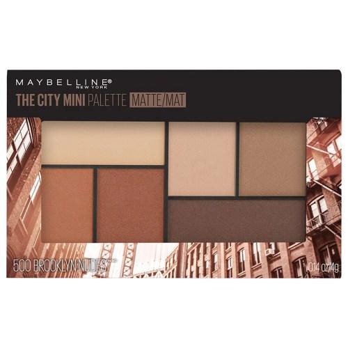 Paleta de Sombras City Mini Maybelline Tono Brooklyn Matte
