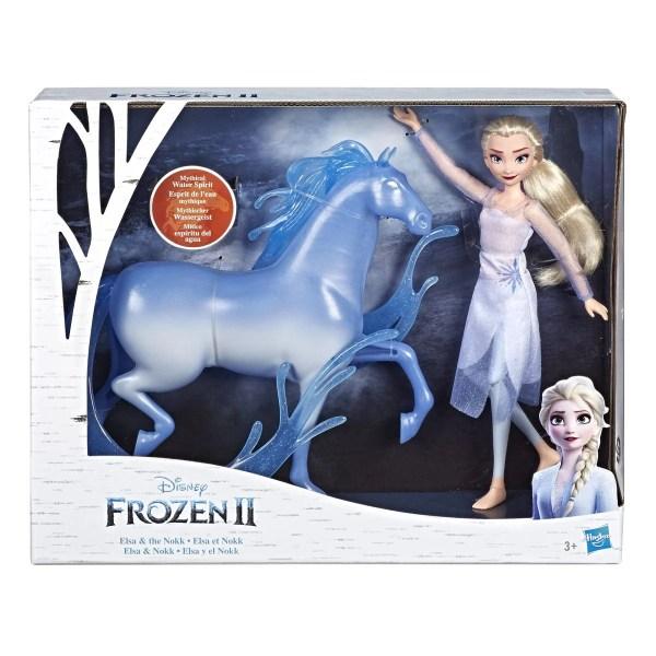 Elsa y Nokk de Frozen II